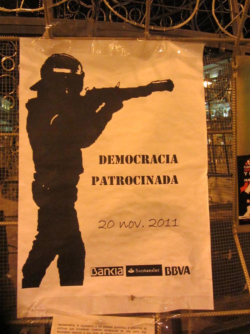 Democracia patrocinada