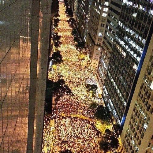 Manifestation Brazil 2013